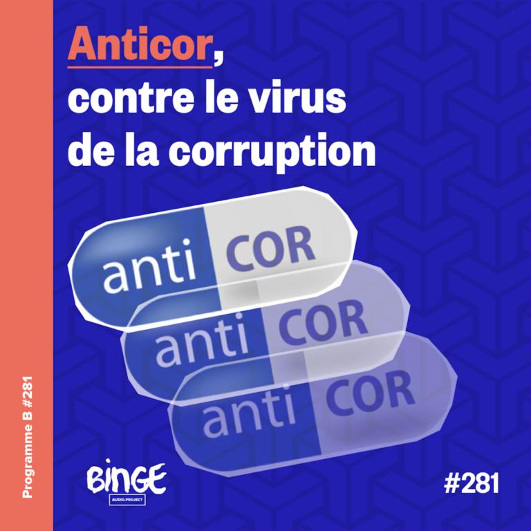 Anticor, contre le virus de la corruption - Programme B - Binge Audio